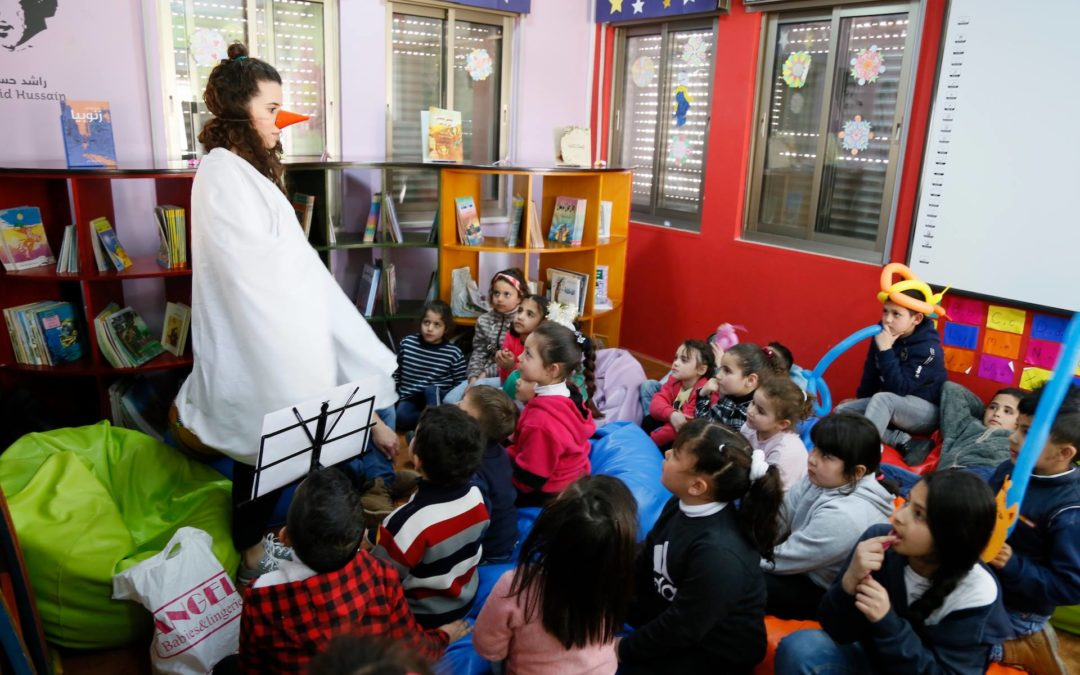 """الرواد تحيي فعاليات مهرجان """"كائنات صغيرة """" للاطفال"""