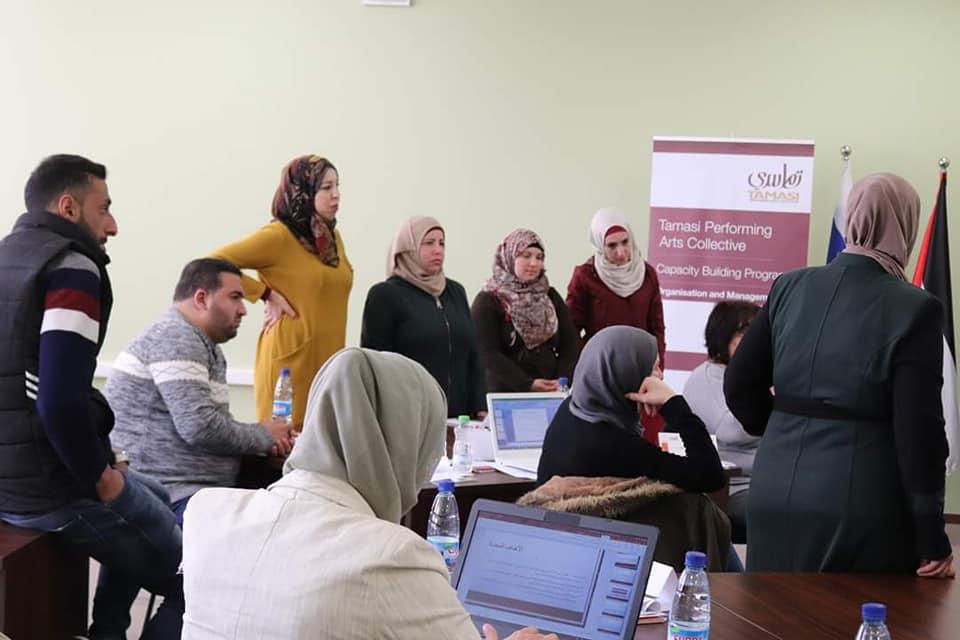 الرواد تشارك في ورشة عمل حول تخطيط المشاريع الثقافية