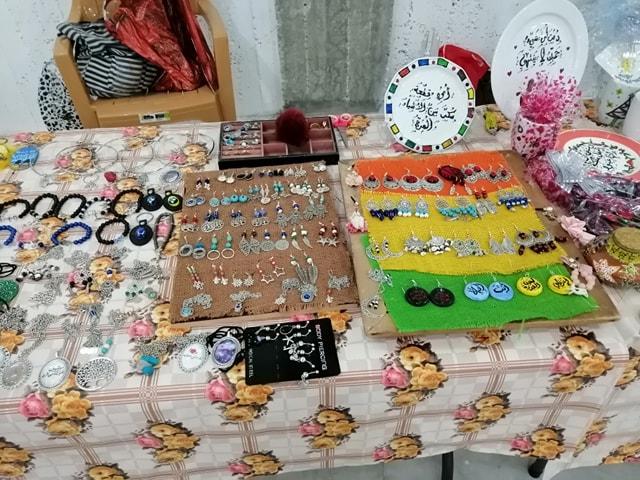 الرواد تشارك في زوايا سوق نبع الخيرات بيت جالا