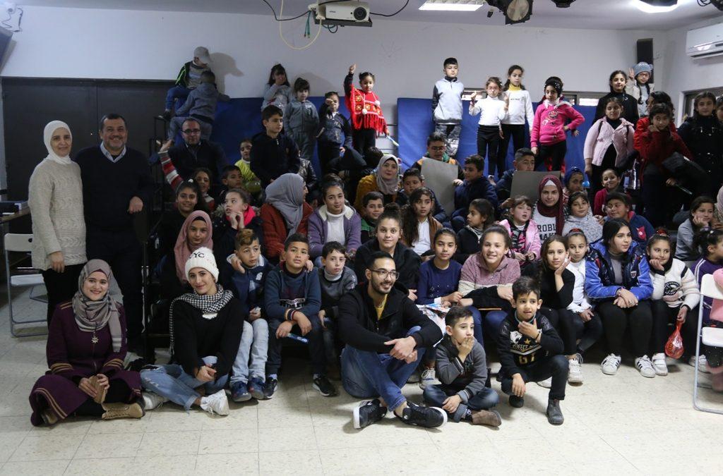 إختتام فعاليات مخيم الرواد الشتوي للأطفال