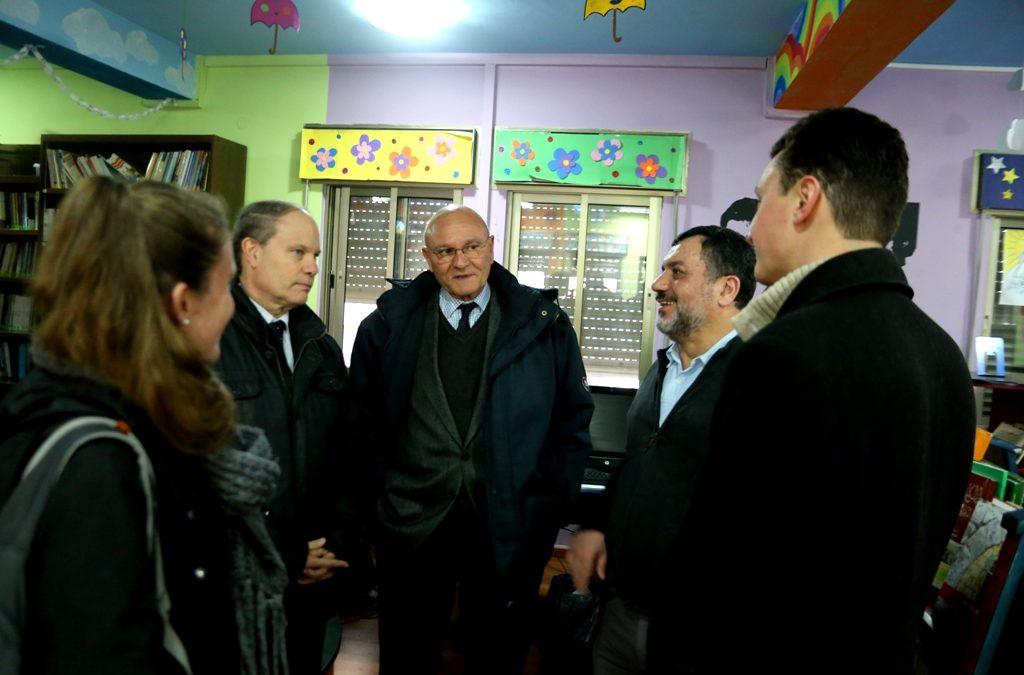جمعية الرواد تستقبل القنصل الفرنسي العام في القدس