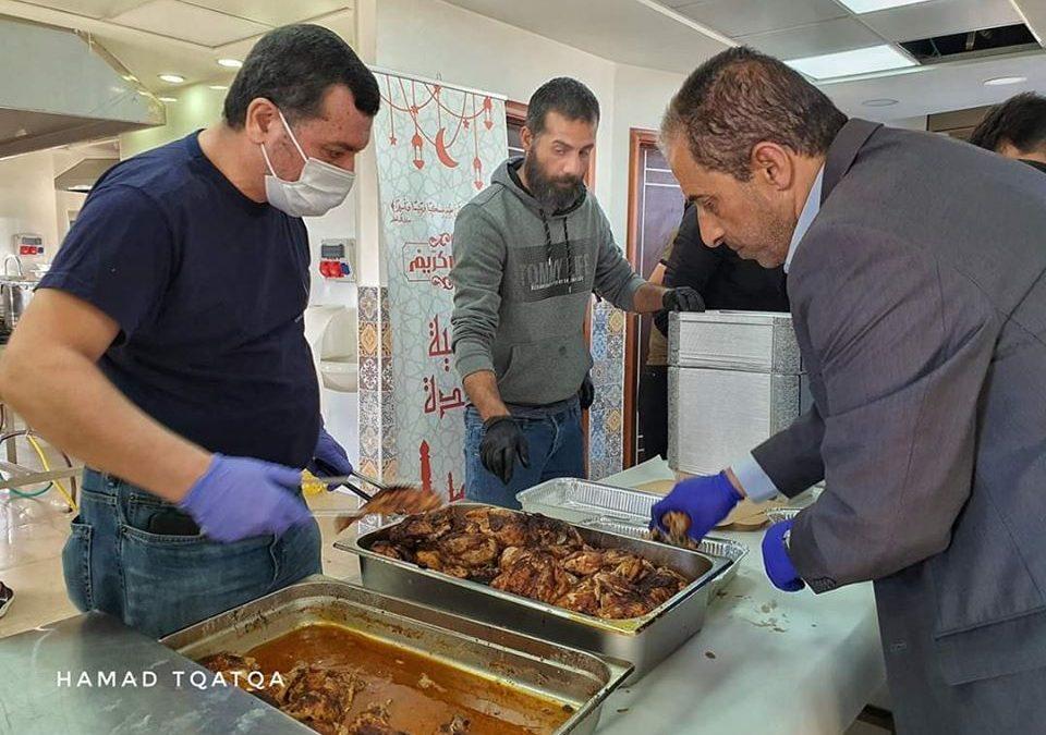 تكية عايدة وزعت 11500 وجبة طعام خلال شهر رمضان المبارك