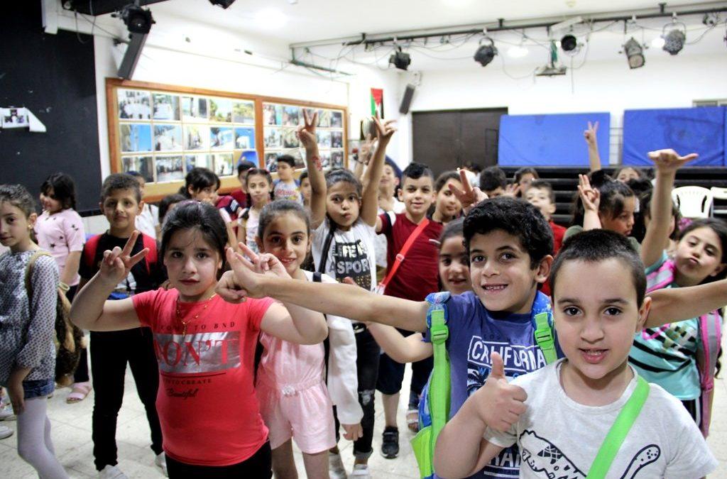 اختتام فعاليات مخيم عائدون الصيفي الخامس (النسخة الأولى)