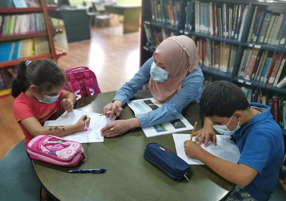 برنامج التعليم يباشر دروس التعليم المساند لطلبة المدارس