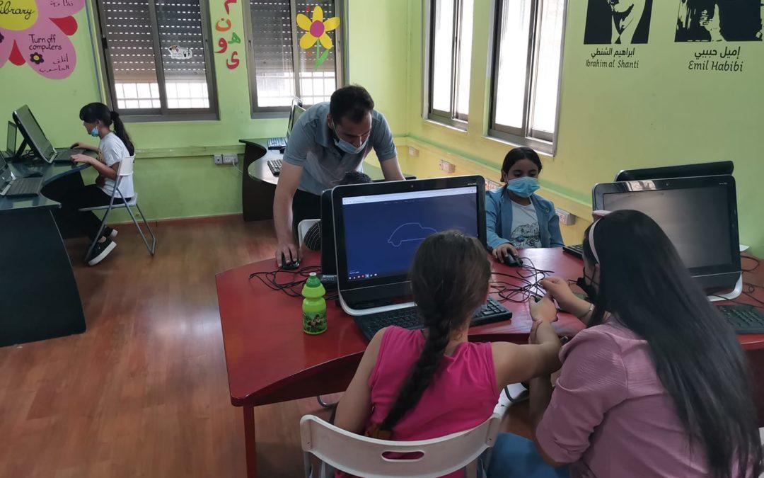 لقاء جديد لدورة الفوتوشوب والملمتيديا للأطفال