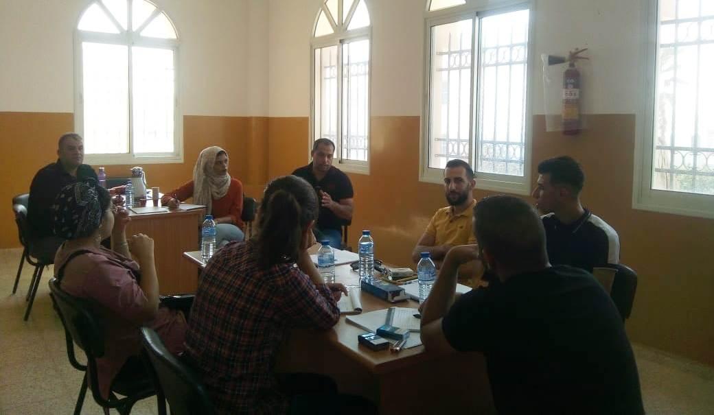 الرواد تواصل ورشات التدريب في برنامج الإستثمار في حقوق الإنسان