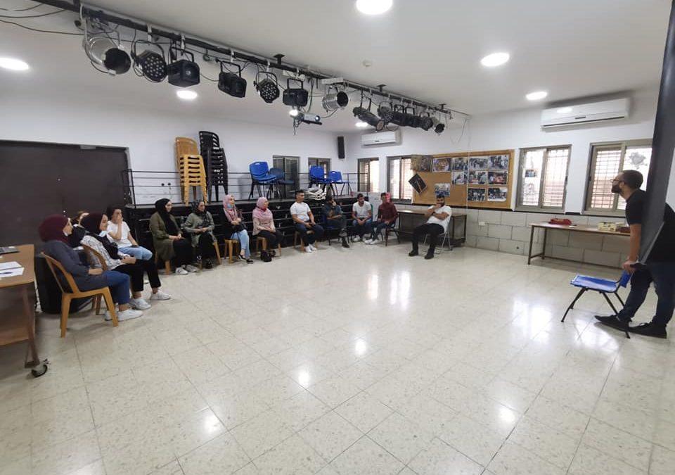الرواد تقدم الورشة التدريبية الاولى لمخيم صناعة الأفلام في بيت لحم