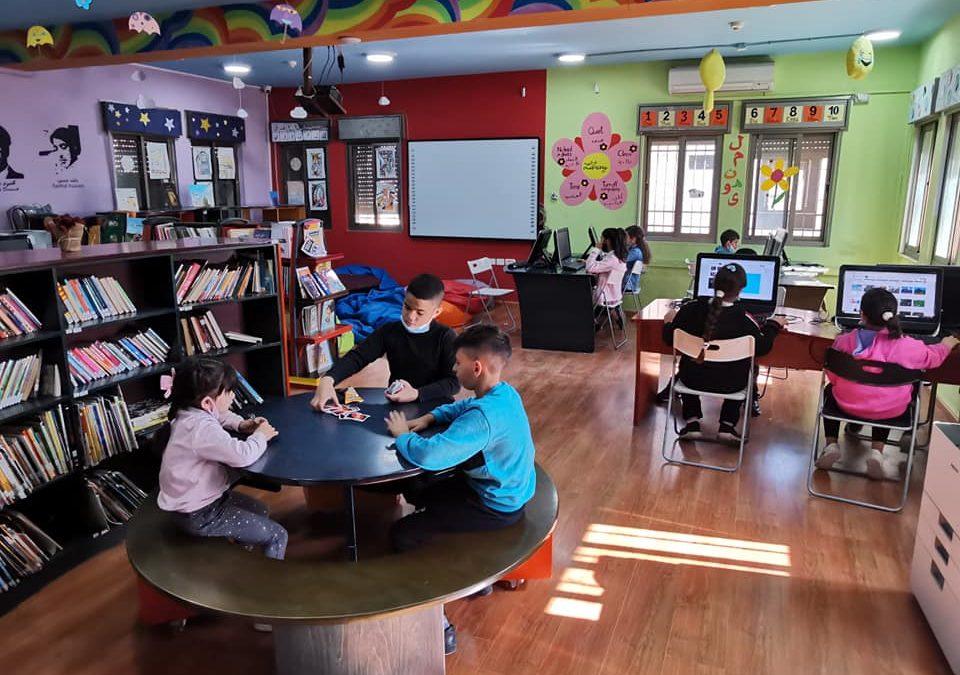 مكتبة الرواد تنفذ مجموعة من الأنشطة للأطفال