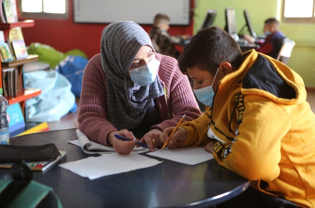 الرواد تبدأ انشطتها المكتبية والتعليمية للأطفال للعام 2021