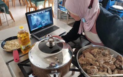 برنامج تعليم طهي المأكولات يقدم طريقة عمل المنسف