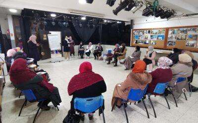 الرواد تنفذ ورشة عمل تدريبية للنساء في المشاركة المجتمعية