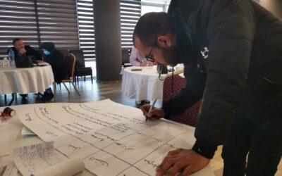 الرواد تشارك في ورشة عمل حول قضايا الإدارة وحملات الضغط والمناصرة