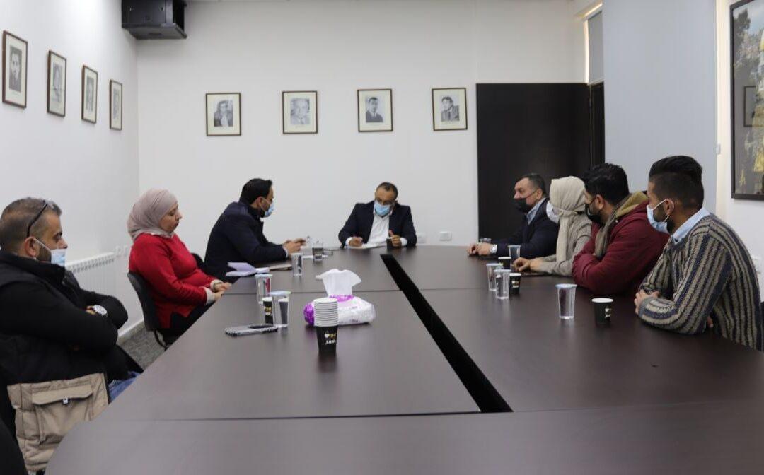 الرواد تلتقي وزير الثقافة لبحث قضايا تهم المراكز الثقافية