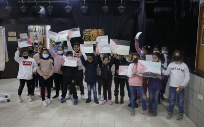 الرواد تشاركة بحملة  لتشجيع القراءة للأطفال