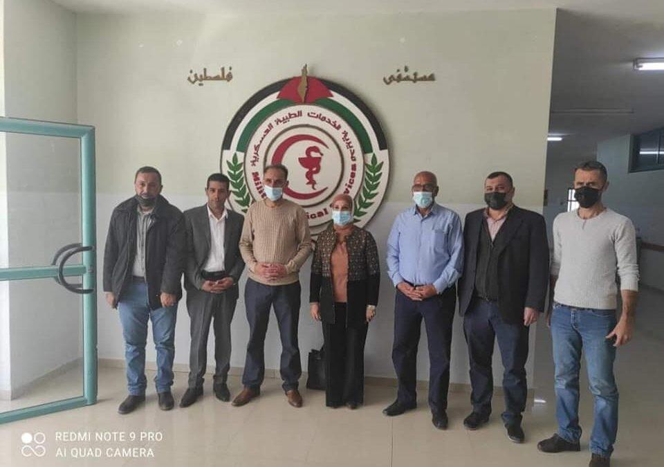 الرواد تشارك في زيارة لمستشفى فلسطين ببيت لحم
