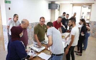 الرواد تنظم يوما تطوعيا في تكية عايدة وإفطاراً للمؤسسات الشريكة