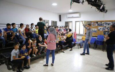 الرواد تنظم نشاط ترفيهي للاطفال بمناسبة حلول عيد الفطر السعيد