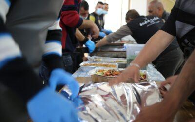 تكية عايدة وزعت 16500 وجبة إفطار خلال شهر رمضان المبارك