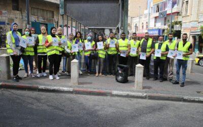 """إطلاق حملة """"من بيت لحم إلى غزة """" في بيت لحم"""