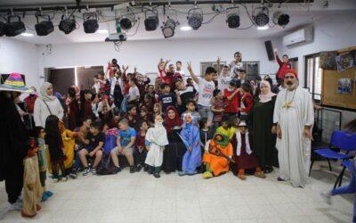 الرواد تستضيف عرض دمى للأطفال مع الفنان المسرحي نضال الخطيب