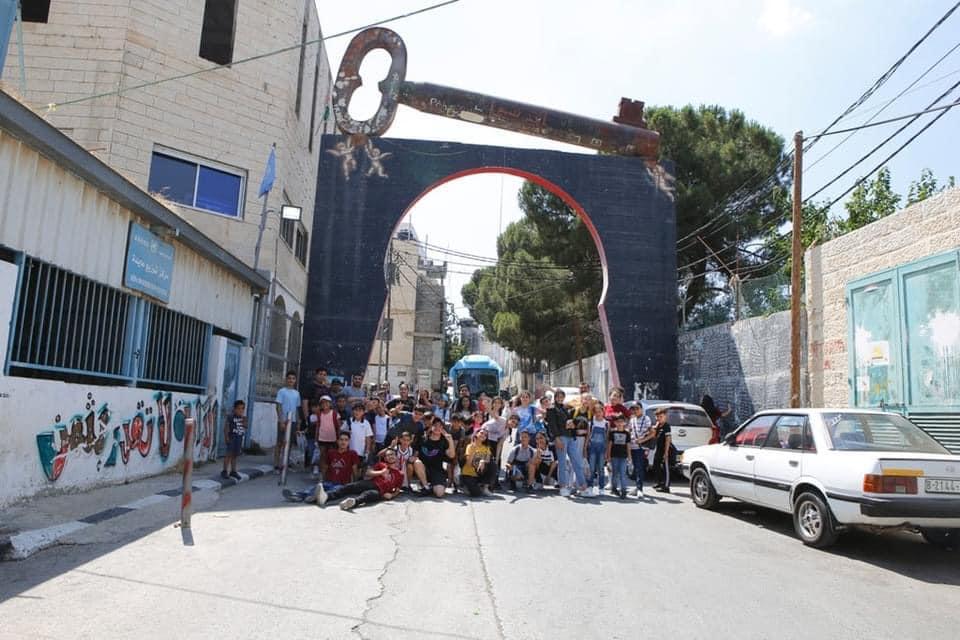 الرواد تستقبل أطفال مخيم إحنا هون من مدينة القدس