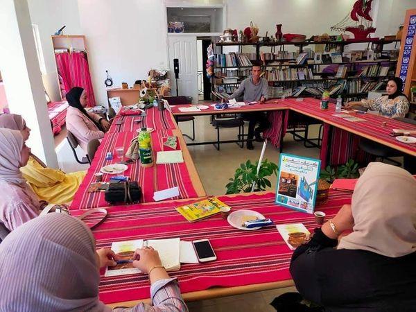 الرواد تشارك في اجتماع شبكة المكتبات في بيت لحم