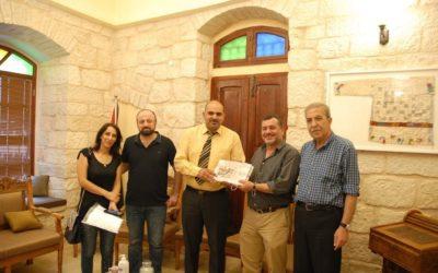 Alrowwad Visits Dar al Sabagh Diaspora Studies and Research Center.
