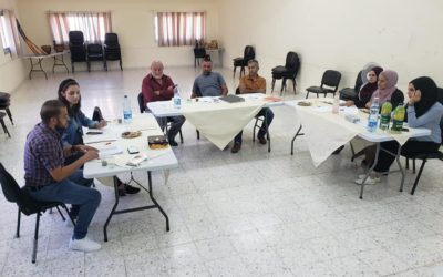 """Alrowwad's fifth workshop in their """"Investment in Human Rights"""" Program."""