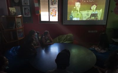 Alrowwad's Library presents a slide show for children.