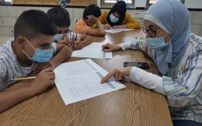 Alrowwad does a survey study for children of Aida Camp.