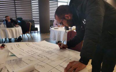Alrowwad participe à un atelier sur la sensibilisation au handicap