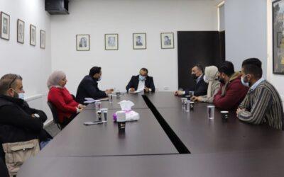 Alrowwad rencontre le ministre de la Culture pour discuter des sujets de préoccupation des centres culturels