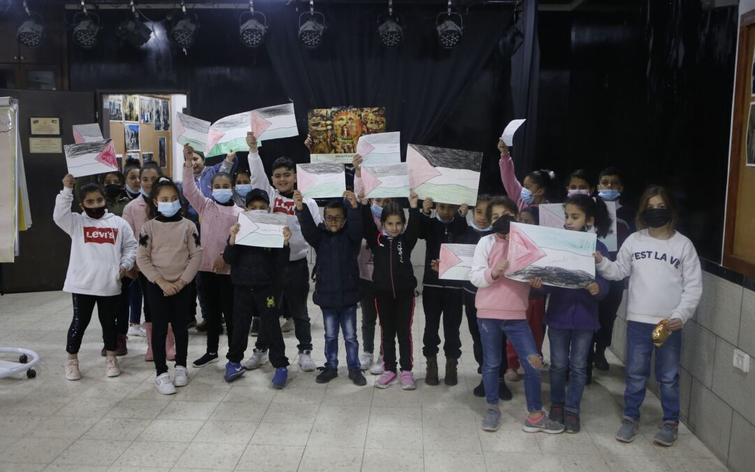 Alrowwad participe à une campagne pour encourager les enfants à la lecture