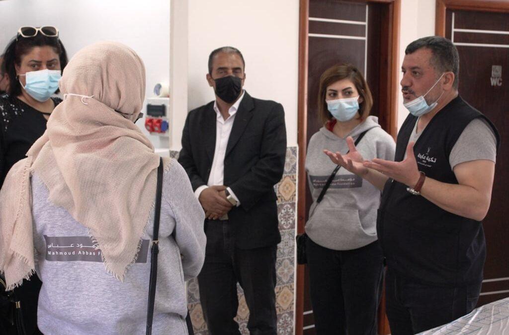 Alrowwad reçoit une délégation de la Fondation Mahmoud Abbas