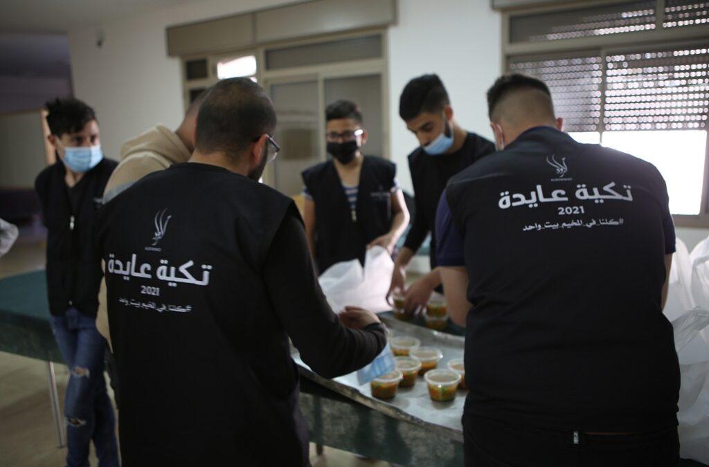 Tekeyet Aida reprend son travail en servant des repas chauds tout au long du Ramadan