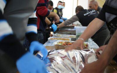 Tkiyet Aida a distribué plus de 4 500 repas Iftar au cours de la première semaine du Ramadan.