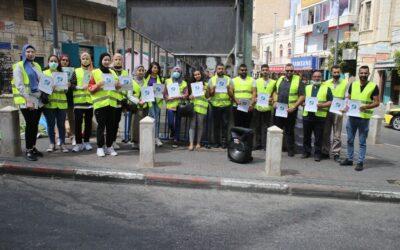 Lancement de la campagne «De Bethléem à Gaza»