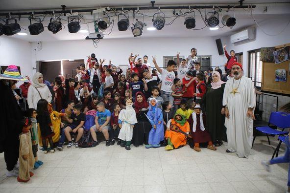 Alrowwad organise un spectacle de marionnettes pour les enfants